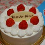 33th誕生日ケーキ♪