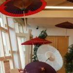 赤の世界・和傘♪